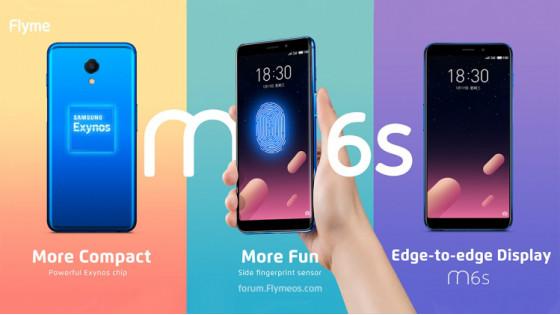 MEIZU M6s – первый полноэкранный смартфон MEIZU